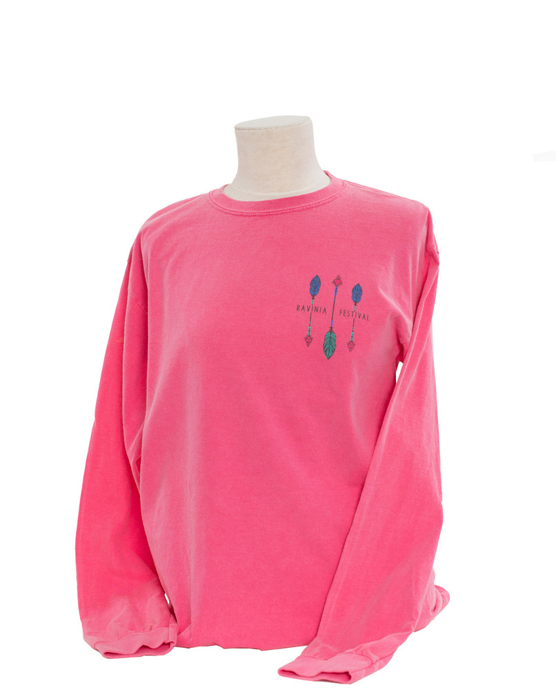 STRAWBERRY ICE OVER-SIZED LONG SLEEVE TEE
