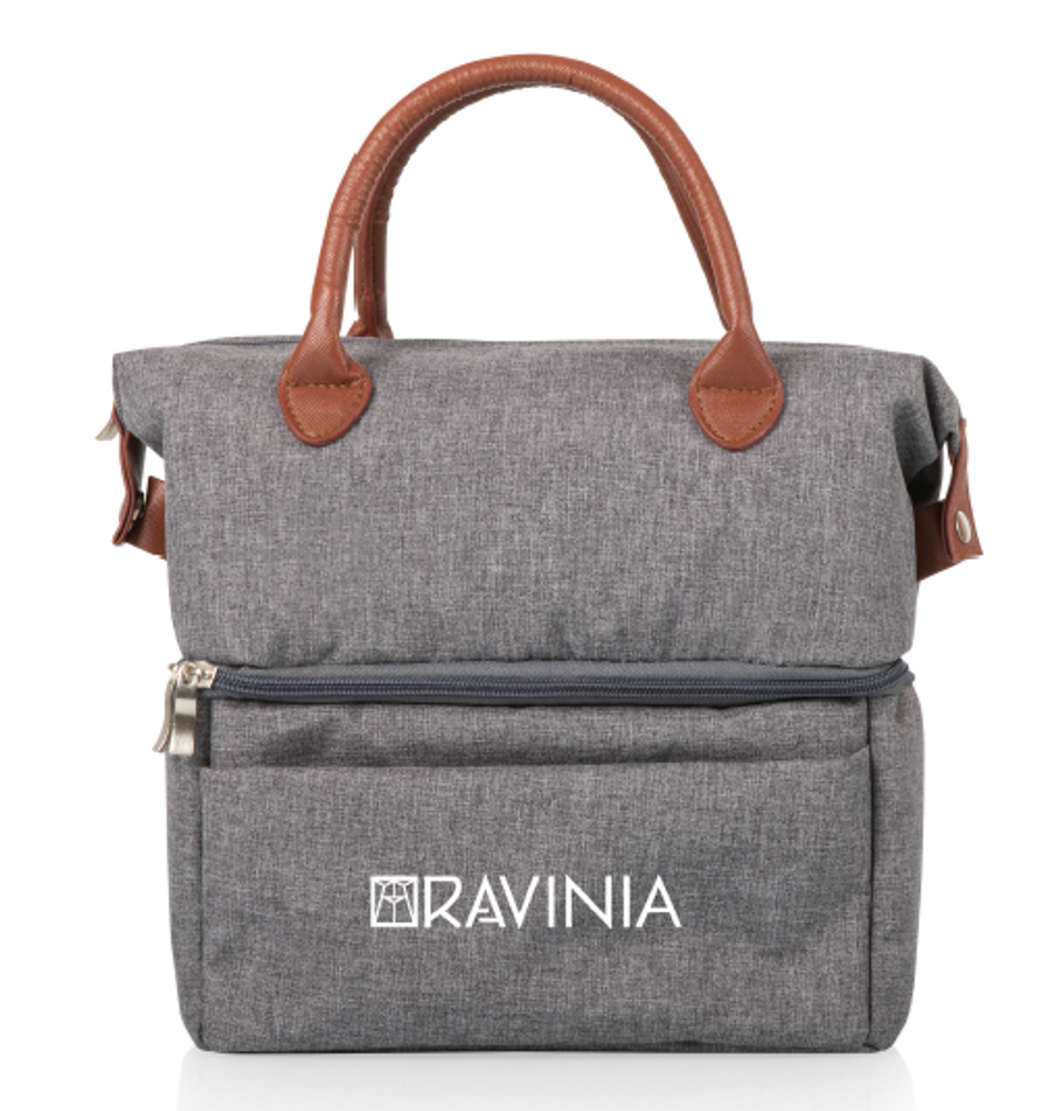 GRAY URBAN  LUNCH BAG