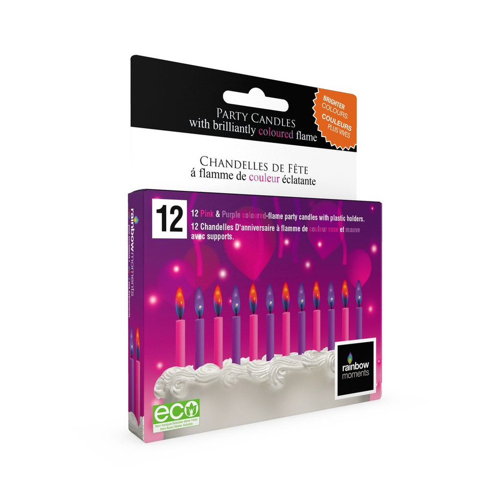 BIRTHDAY CANDLES SET OF 12