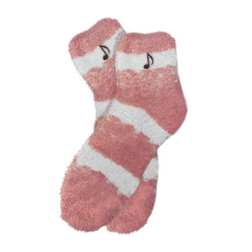 MUSIC NOTE FUZZY SOCKS