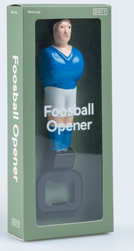 BOTTLE OPENER FOOSBALL BLUE