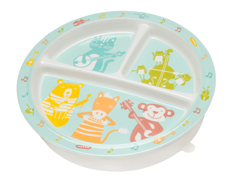 CHILDREN'S DIVIDED SUCTION PLATE