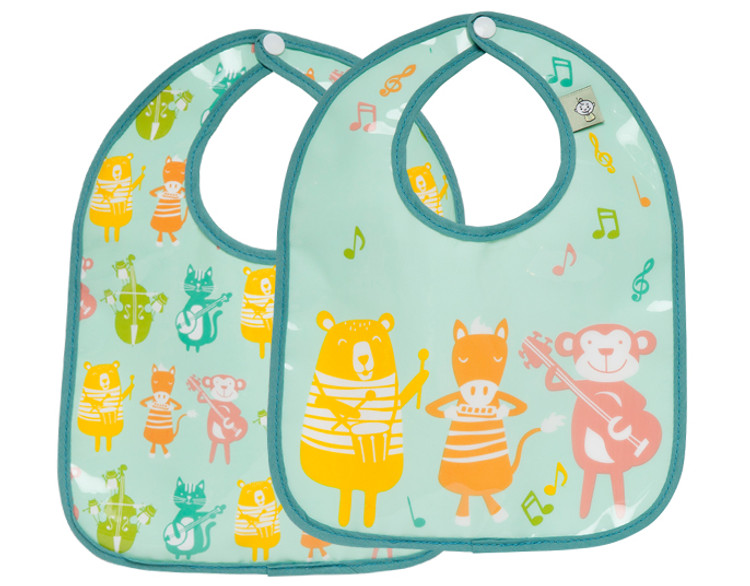 CHILDREN'S MINI BIB (SET OF 2)