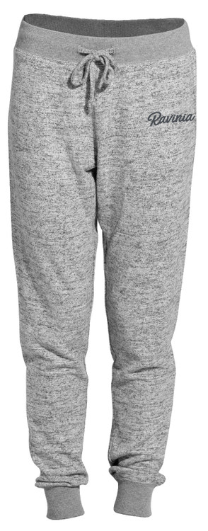 LADIES GRAY SWEATER JOGGER PANTS