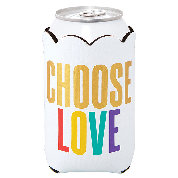 CHOOSE LOVE CAN COOLER