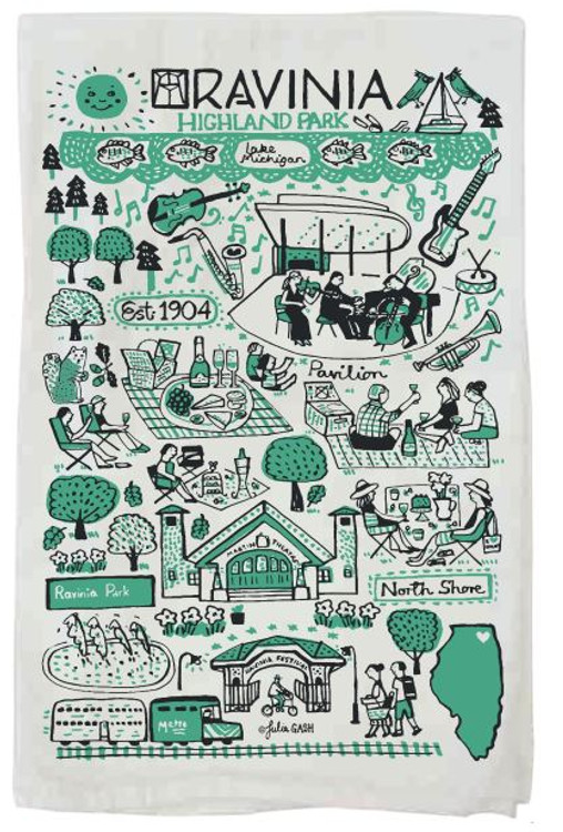 JULIA GASH DISH TOWEL
