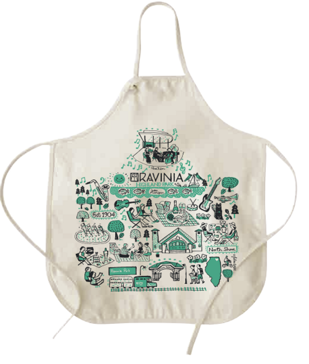 JULIA GASH CANVAS APRON