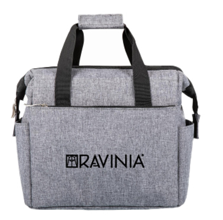 GRAY ON THE GO LUNCH COOLER