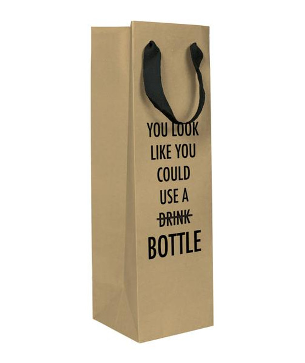 USE A BOTTLE WINE BAG