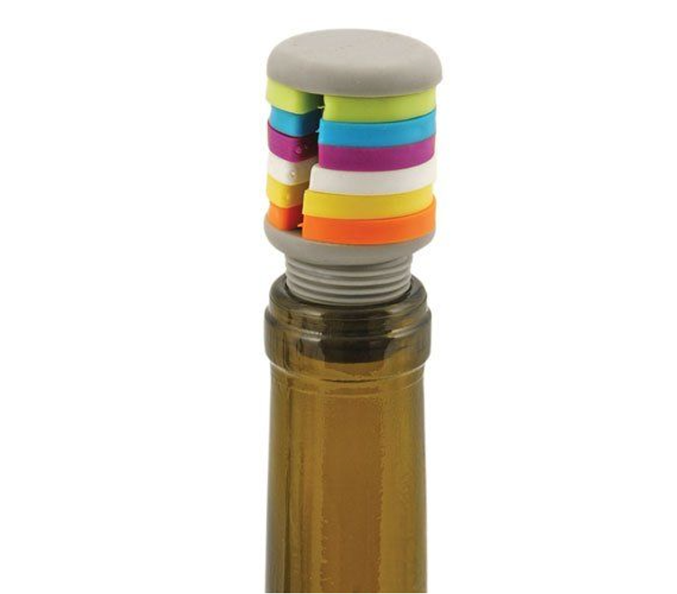 PRISM BOTTLE STOPPER AND CHARM SET