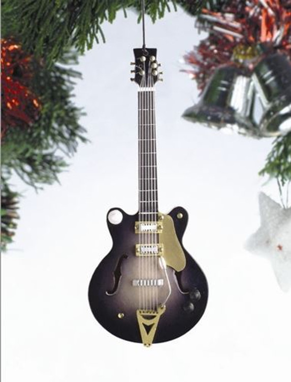Country Electric Guitar Ornament