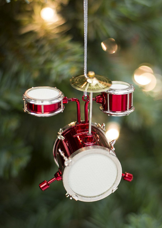 Red Junior Drum Set