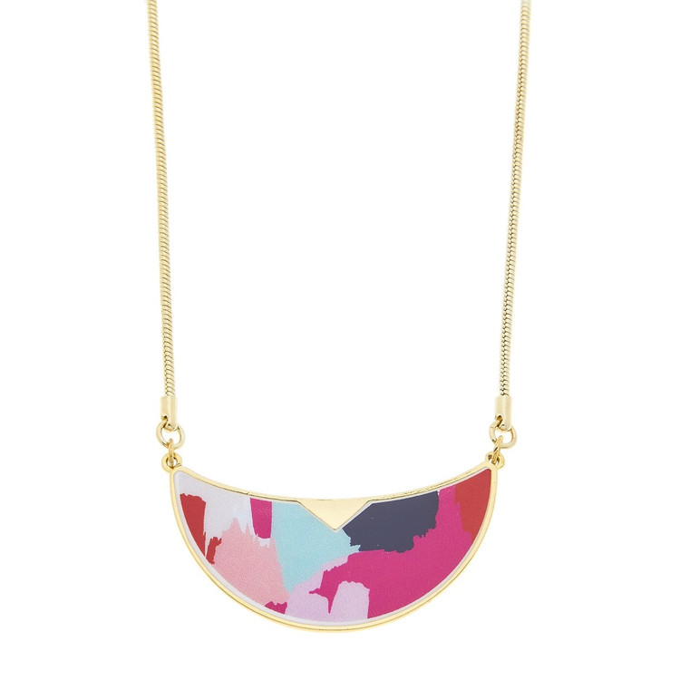 GOLD WARHOL NECKLACE