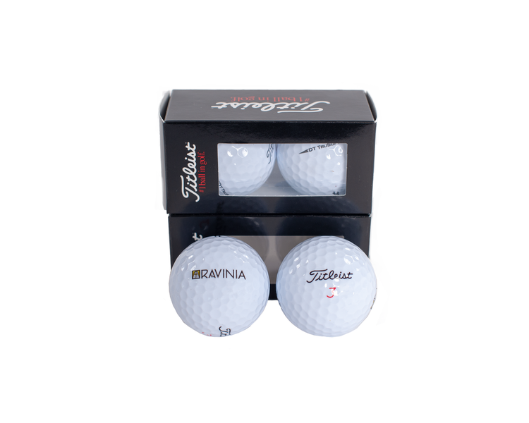 GOLF BALLS SET OF 2