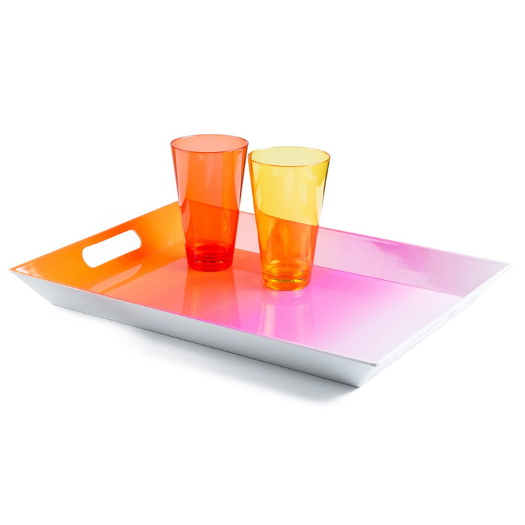 TRAY PINK OMBRE