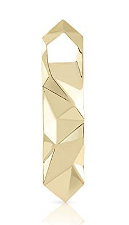 BOTTLE OPENER GOLD FACETED