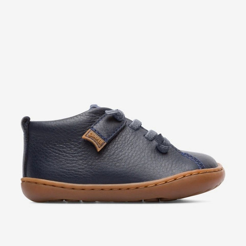 Peu Navy Ankle Boot