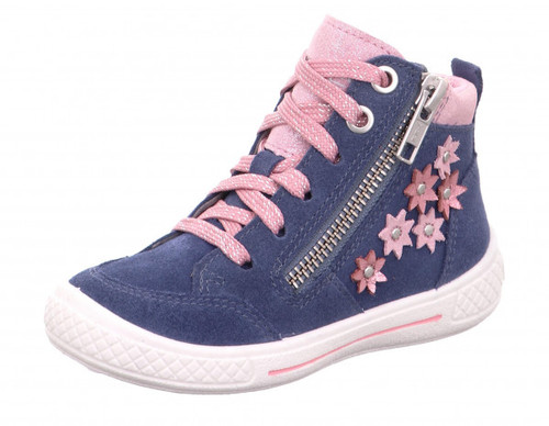 Tensy Ancle Boot Blue Pink