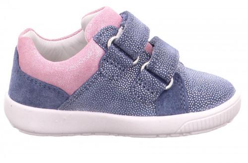 Starlight Loafer, Blue -Pink