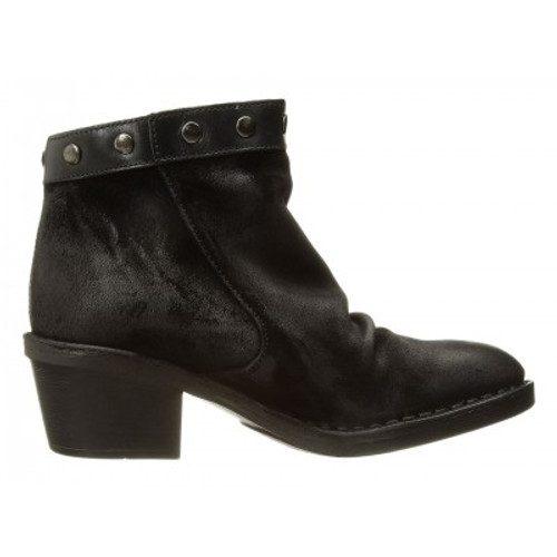 Ankle with Chunky Heel, Black
