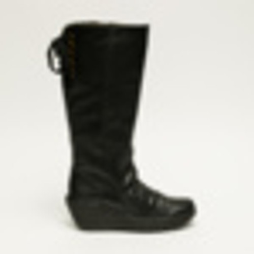Tall back with wedge, Black