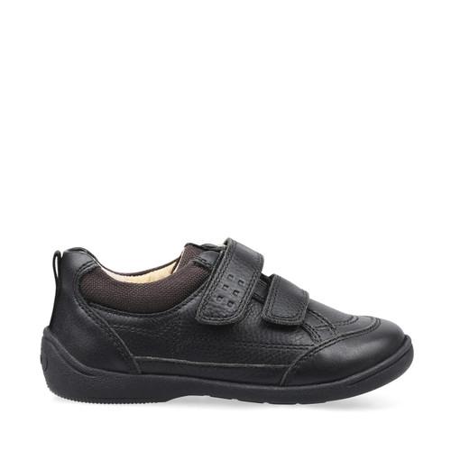 Zigzag Black Leather