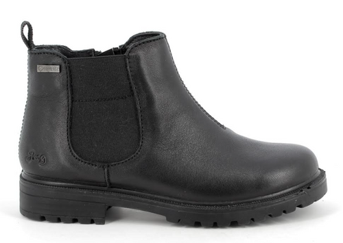 Michela Black Leather
