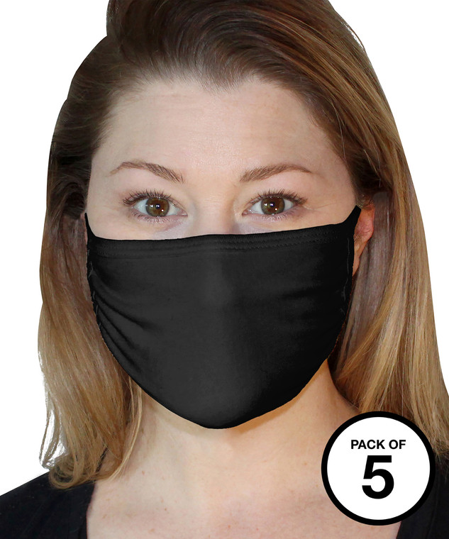 Adult Cotton face mask (Pack of 5)
