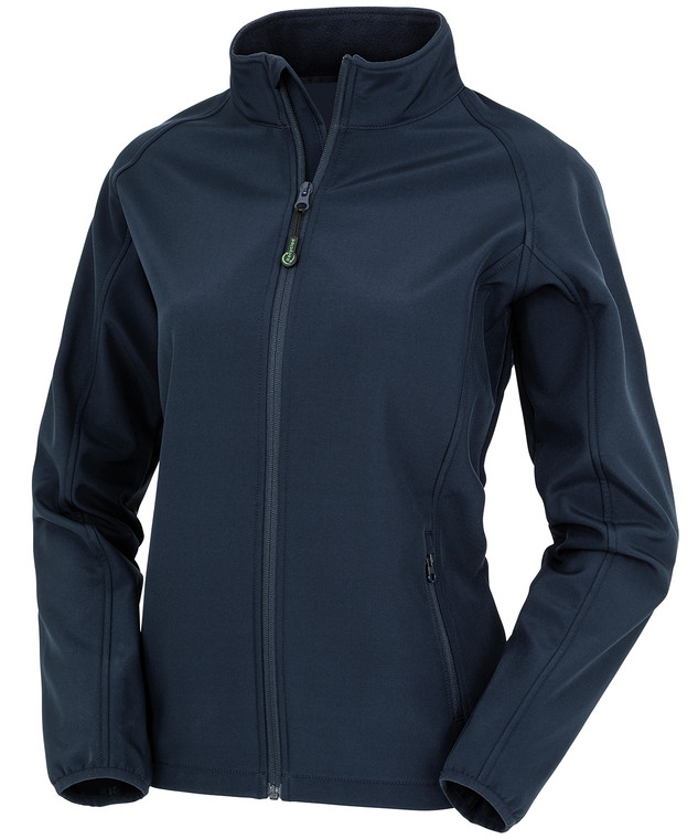 Womens Recycled 3-layer softshell jacket