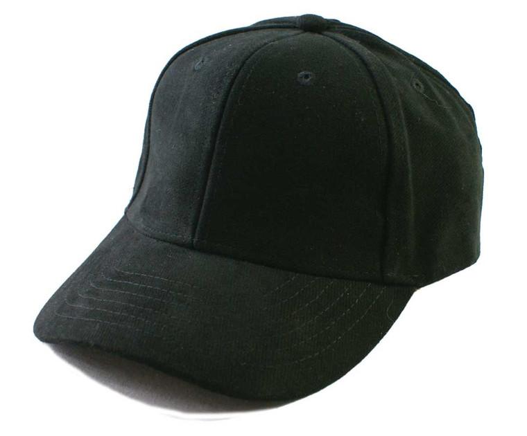 Premium Brushed Cotton Peak Cap