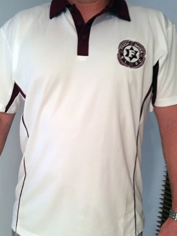 Adults White Engine Freshwater Polo
