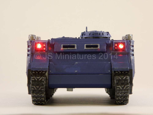 Small Scale Lights Lighting Kit for Warhammer Tank with fibre optics