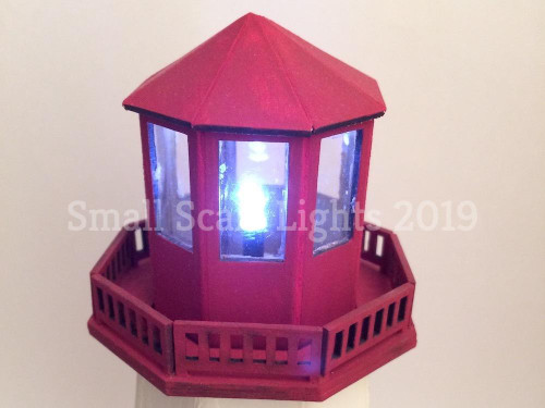 Small Scale Lights LED Lighthouse Beacon