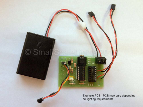Small Scale Lights Remote Control/Infrared Lighting Kit