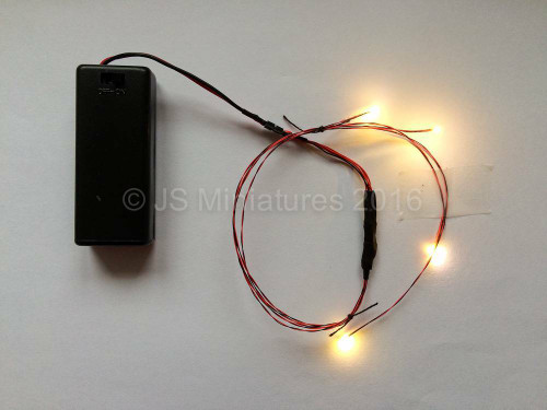 Small Scale Lights 1/144th -1/48th Scale Lighting Package