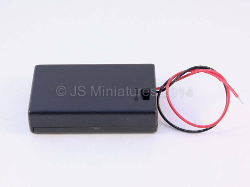 3 x AAA 4.5v Battery box with switch