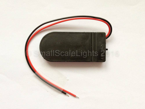 6v CR2032 battery box with on/off switch