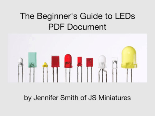 Small Scale Lights Beginners Guide to LEDs - PDF
