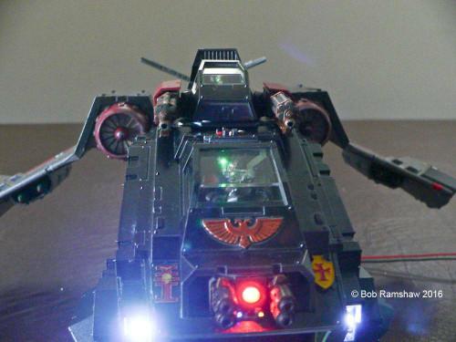 Small Scale Lights Warhammer 40k Stormraven Gunship Lighting Kit