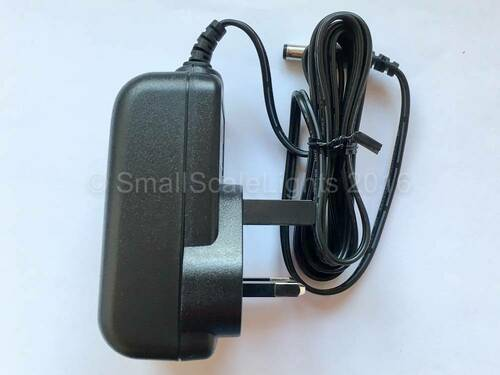 Regulated 9vdc, 1.6amp plug in power supply