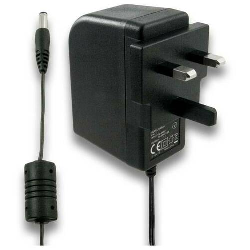 Regulated 12vdc, 1.5amp plug in power supply