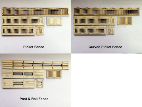 Small Scale Lights Fencing - 1/48th Scale