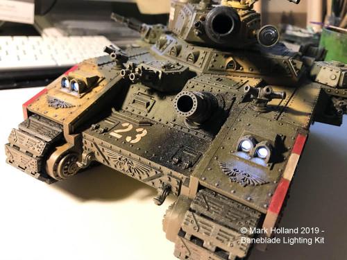 Small Scale Lights Warhammer 40K Baneblade Lighting Kit