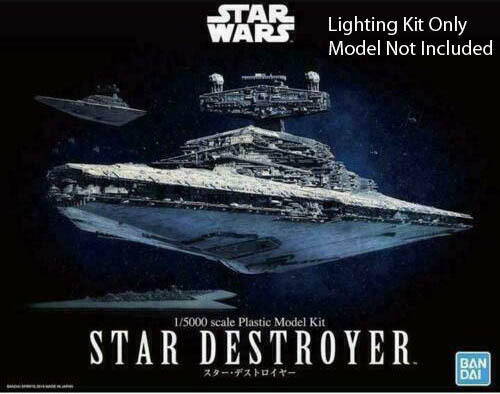 Lighting Kit for Bandai 1/5000 Star Destroyer
