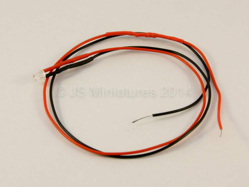 Small Scale Lights 3mm Rainbow Pre-wired LED