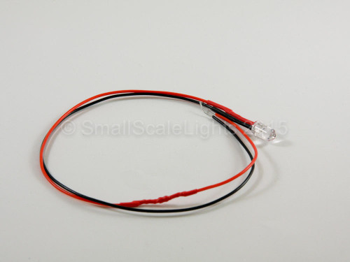Small Scale Lights 5mm Rainbow Pre-wired LED