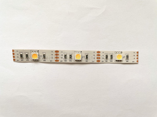 Small Scale Lights 5 volt 5050 Flexible LED Strip - Not Wired