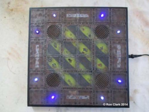 Small Scale Lights Landing Pad LED Kit for Warhammer 40k - Tom Hughes