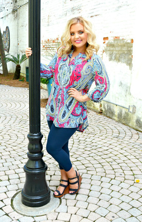a0f63c647c2a8 Trendy Plus Size Shirts - 3 4 Sleeve Tops
