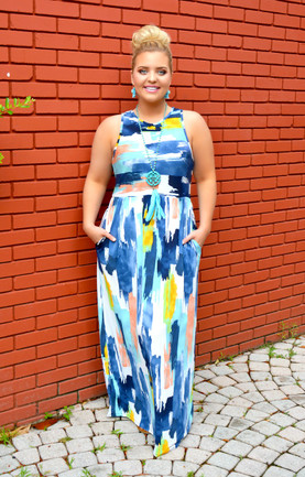 1ee09d10b38 Plus Size Maxi Dresses - Shop Sizes 12-26